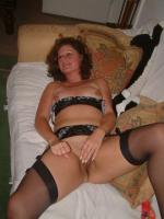 Femme mature se masturbe